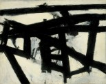 Franz Kline, Mahoning, 1956, New York, Whitney Museum of American Art