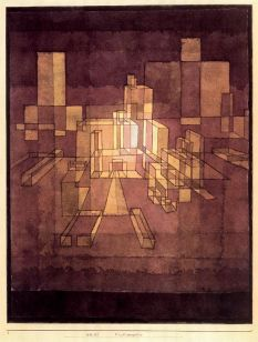 Paul Klee, Stadtperspective, 1928, Private Collection