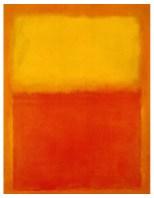 Mark Rothko, Untitled (Orange and Yellow), 1956, Buffalo, Albright-Knox Art Gallery.