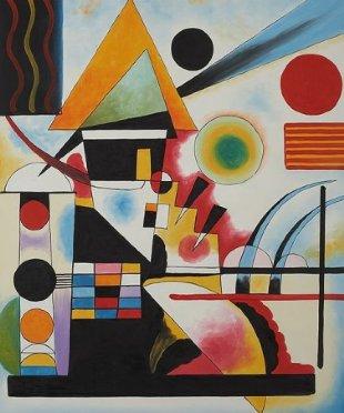 Balancement (Swinging Painting)