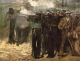 Édouard Manet, Execution of Emperor Maximilian of Mexico, 1867, Boston, Museum of Fine Arts.