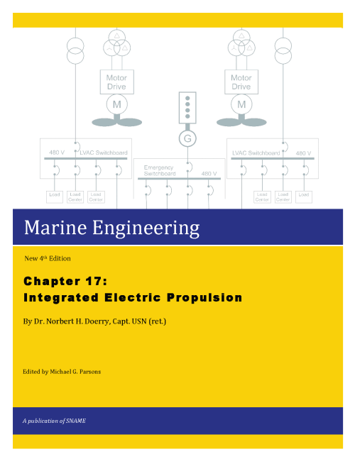 small resolution of this release is first of 3 chapters in the electrical area of the next marine engineering revision chapter 17 covers modern electric propulsion systems