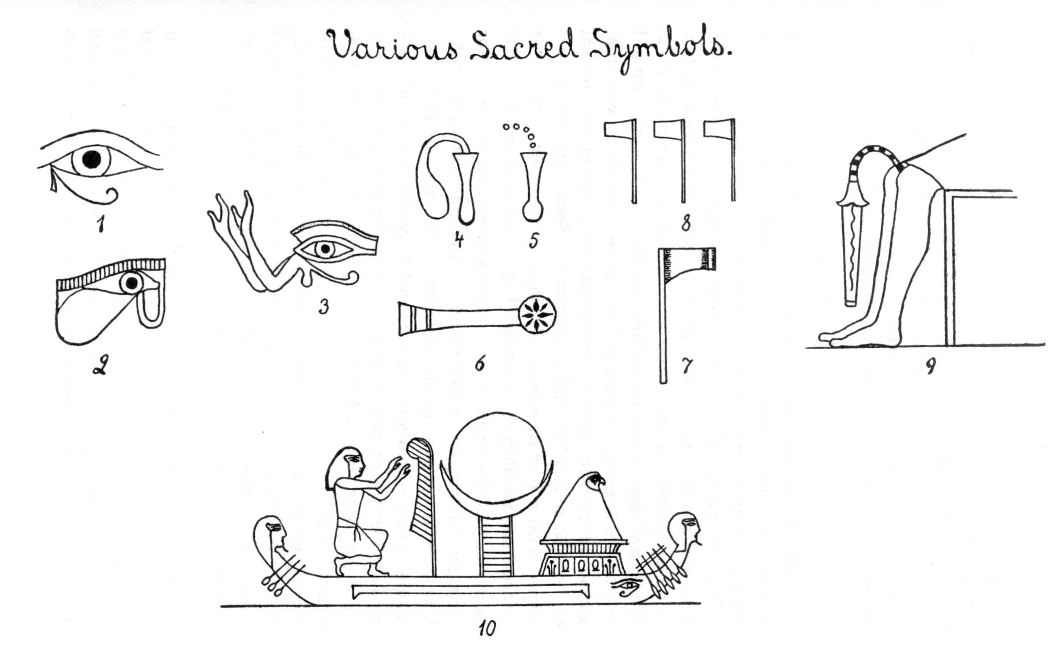 Egyptian Symbols For Love
