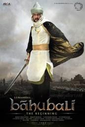 Actor Sudeep as Aslaam Khan in Bahubali Movie Poster