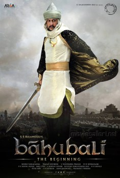 Actor Sudeep as Aslaam Khan in Bahubali Movie Poster
