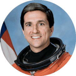 Astronaut Don Thomas