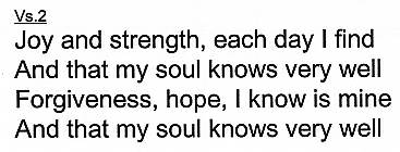 And that my Soul Knows Very Well Chords by Hillsongs