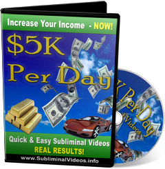 5K Per Day Subliminal Video
