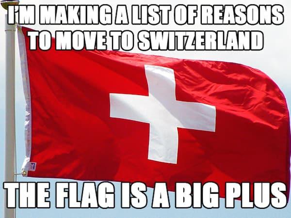 Move to Switzerland