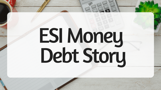 ESI Money Debt Story