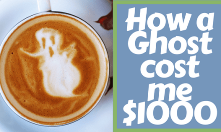 How a Ghost cost me $1000