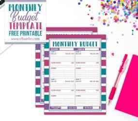 budget template monthly easy printable help planners vlhamlin better
