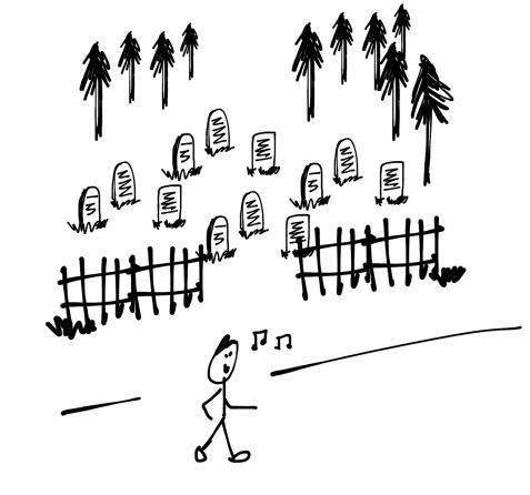 September 20, 2016 l Whistling Past The Graveyard