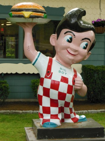 Bob's Big Boy... you know, because he's the hero in lots of children's storybooks! Finn found him extra creepy.