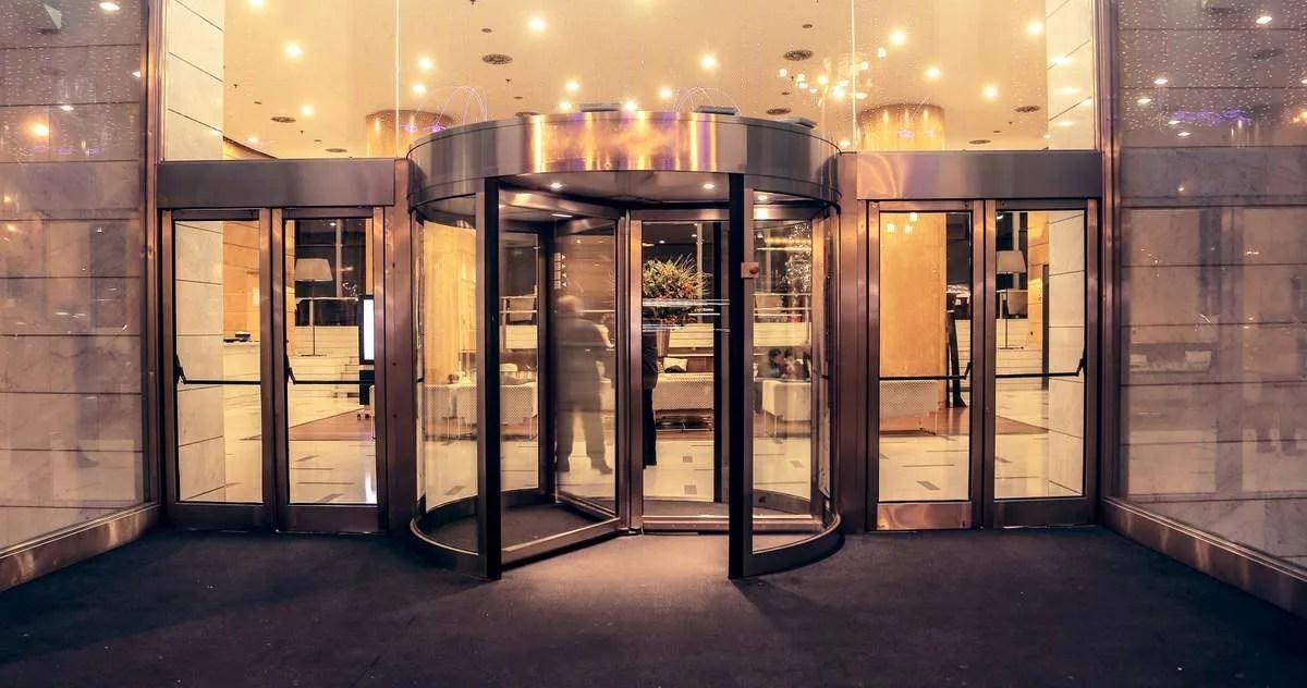 Hotel entrance  Door Repair in NY NJ  Long Island