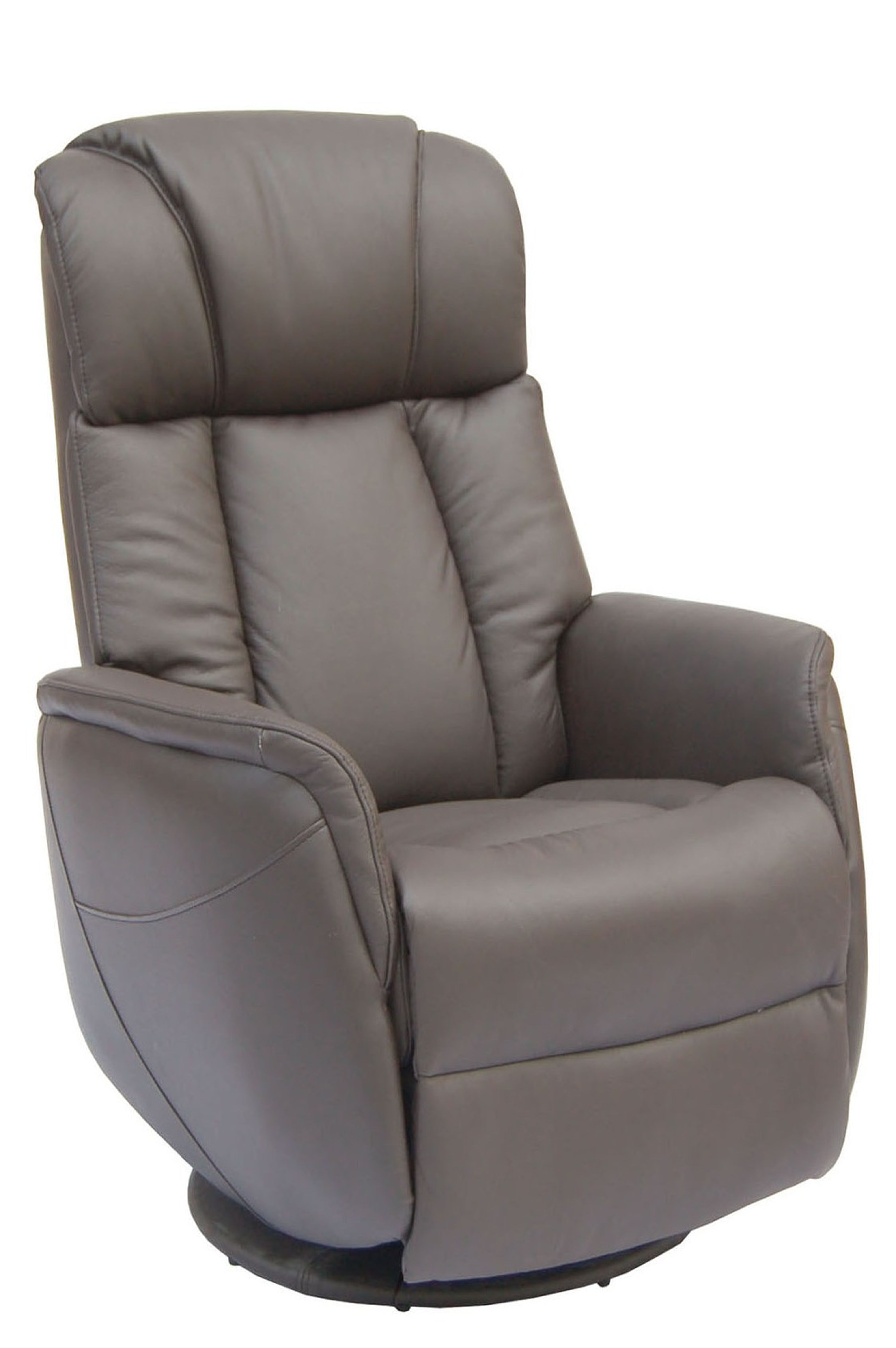 Swivel Recliner Chairs Gfa Sorrento Electric Rock Swivel Leather Recliner Chair Espresso