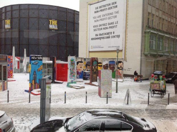 Travel - Berlin wall