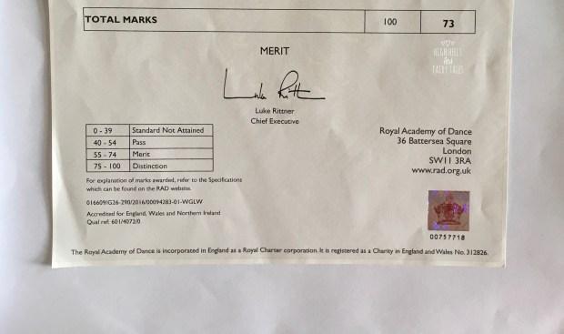 Merit pass