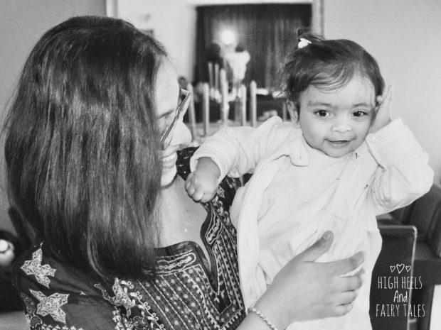Motherhood - Zee and I
