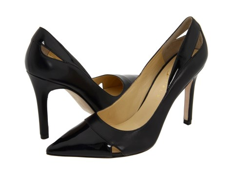 Ivanka Trump high heels with cut-out details