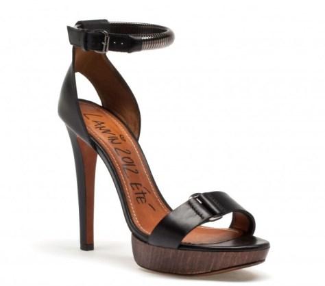 Lanvin high heels 2012
