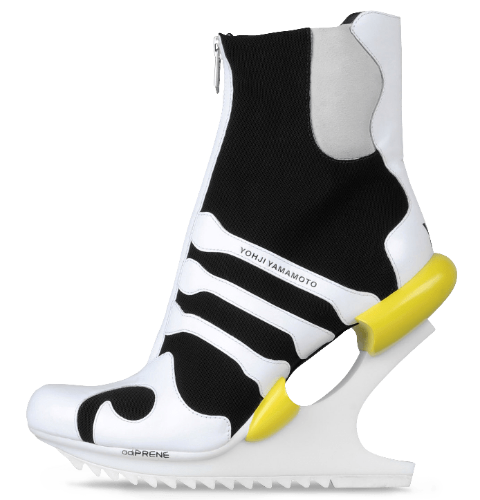 Sneaker high heels from Adidas |