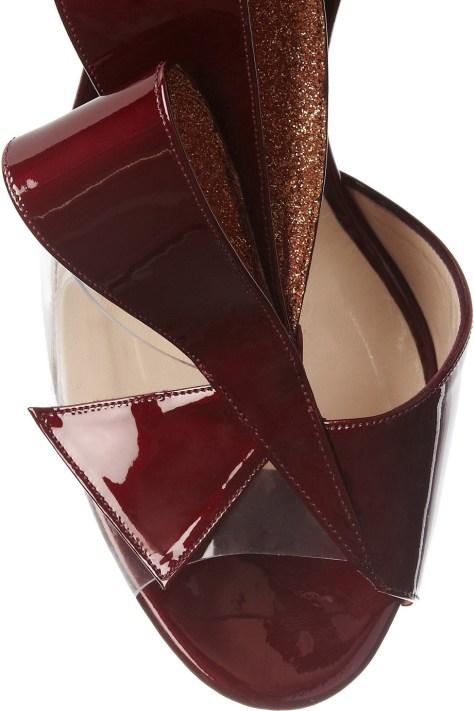 Nicholas Kirkwood clear heels