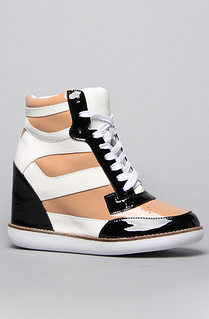 wedge sneakers
