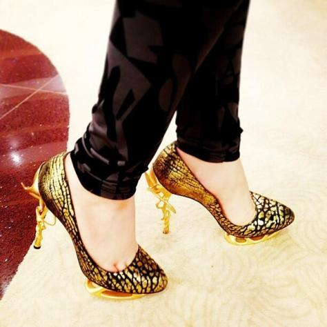 Anastasia Radevich heels