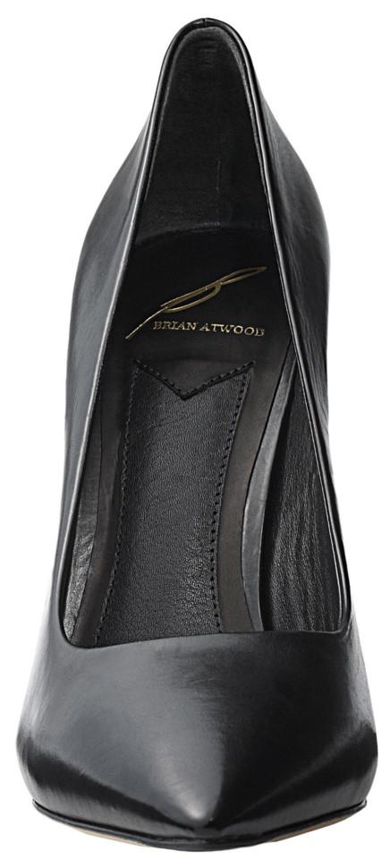 Black high heels Brian Atwood