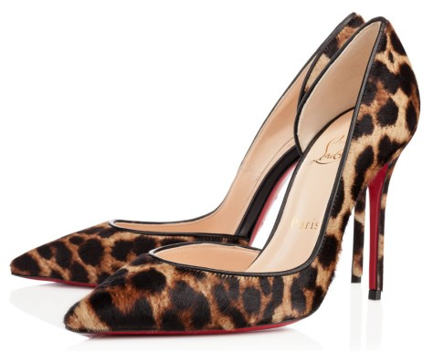 leopard pumps Christian Louboutin