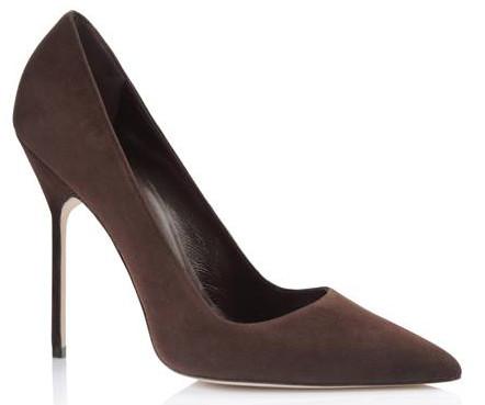Manolo Blahnik high heel pumps