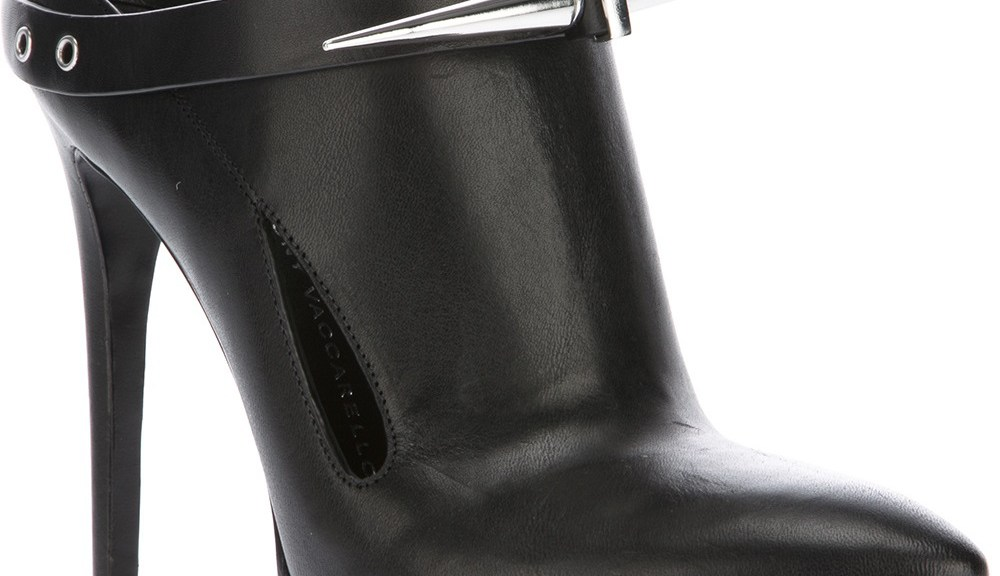 Anthony Vaccarello spike boot