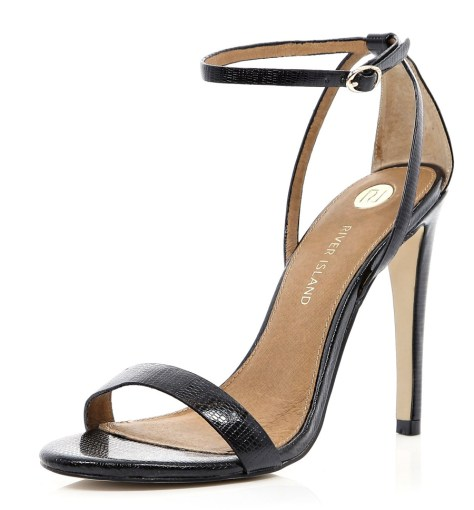 Black River Island Strappy Sandal
