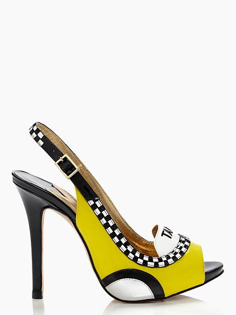 Kate Spade Taxi High Heels