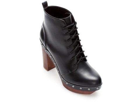 zara chunky boots