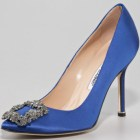 Manolo Blahnik something blue shoes sex and the city
