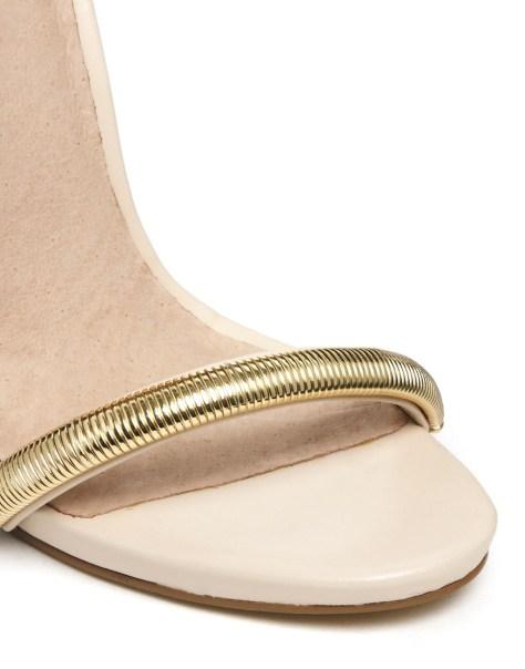 Asos high heeled Helsinki Sandals