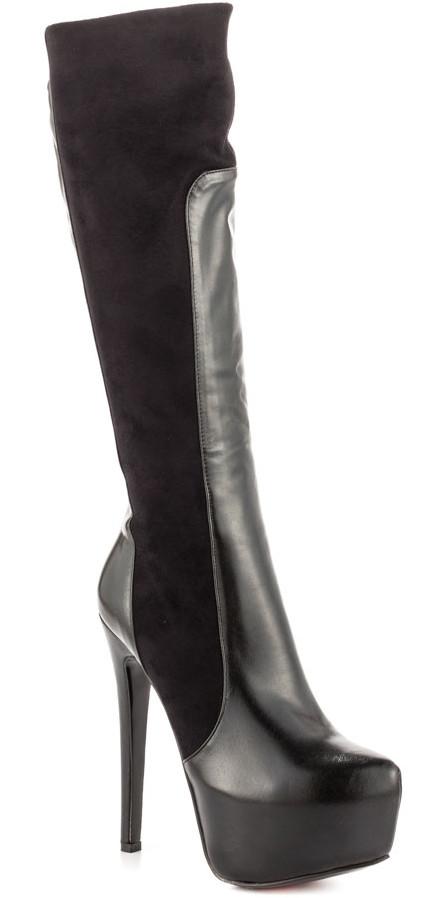 black heart boots