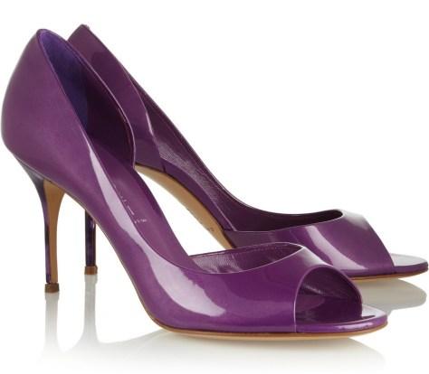 Casadei peeptoe heels