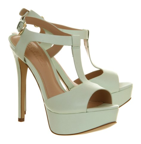 Mint Green Office High Heels