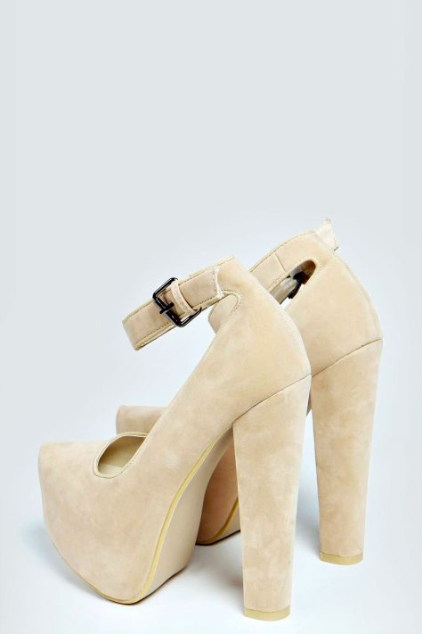 Boohoo Platform High Heel Shoes