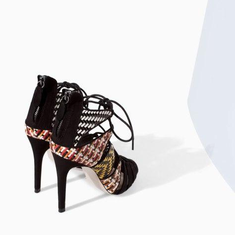 High Heel Sandal Boots