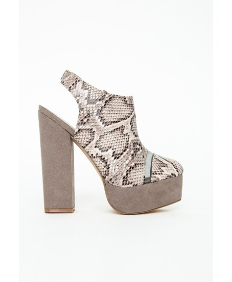Snakeskin Boots by Missguided