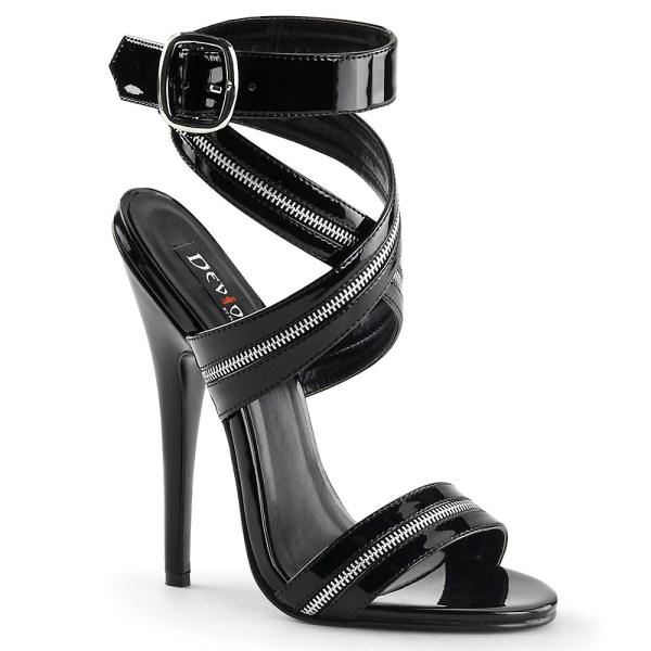 Zip high heel by Pleaser
