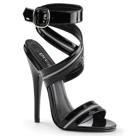 Zip high heel by Pleaser
