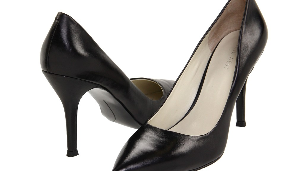 nine west flax pump replaces barbe