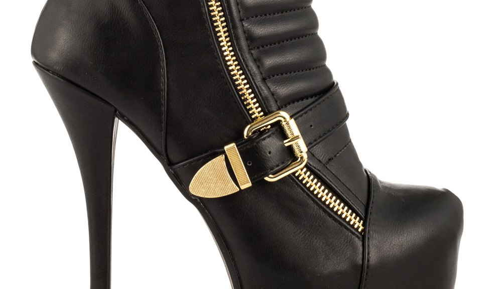 Ankle boots with platform