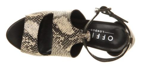Office Snakeskin Sandals