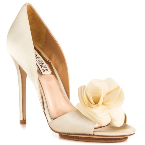Badgley Mischka wedding shoe